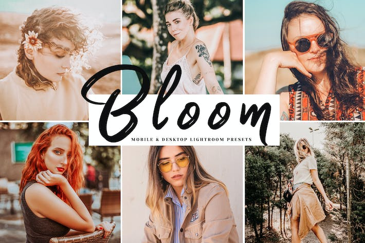 Thumbnail for Bloom Mobile & Desktop Lightroom Presets