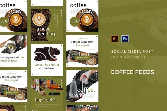Thumbnail for Café Social Media Post