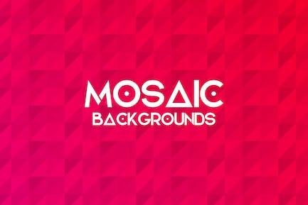 Fondos de mosaico Simple