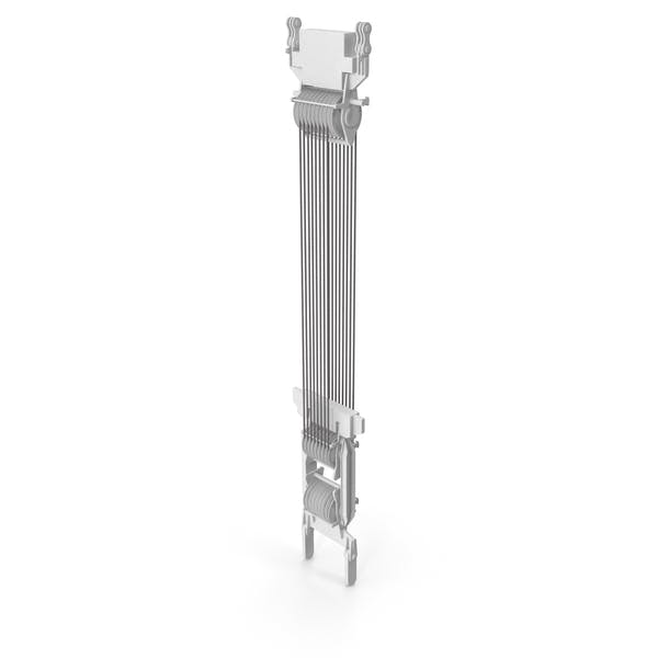 Crane Spool Connector White