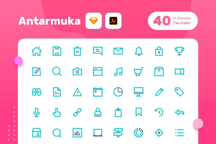Thumbnail for Antarmuka_Two Color-UI element 1