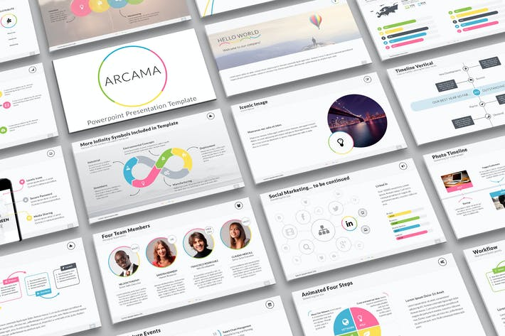 Thumbnail for Arcama - Powerpoint Presentation Template