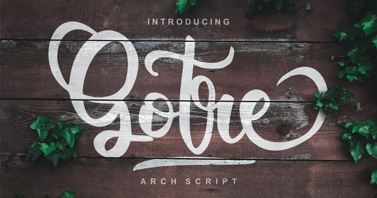 Download Gotre | Script Font by Vunira
