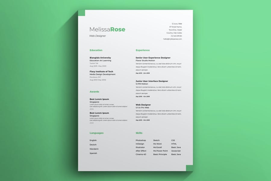 Resume Vol 50