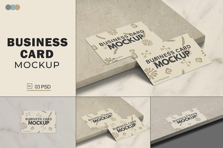 Thumbnail for Business Card Mockups V.8