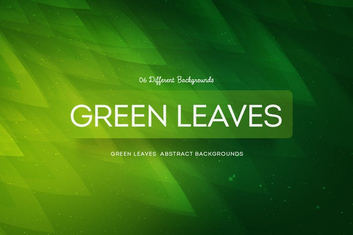 Green Leaves Abstract Backgrounds COL 3