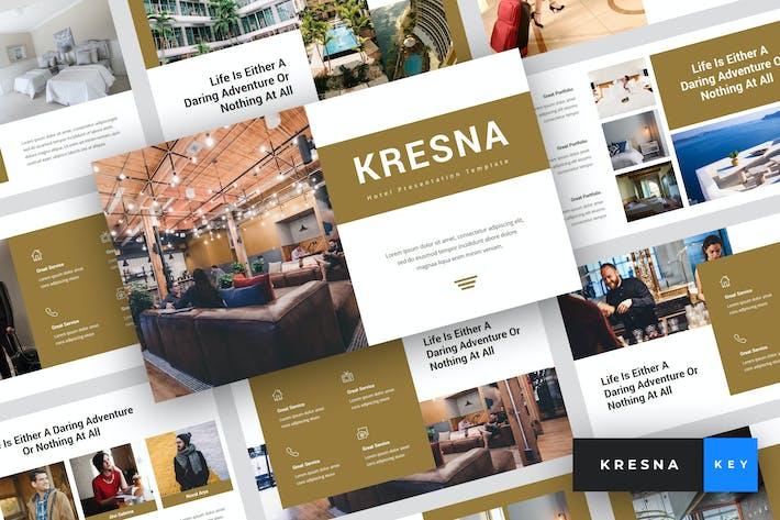 Thumbnail for Kresna - Hotel Keynote Template