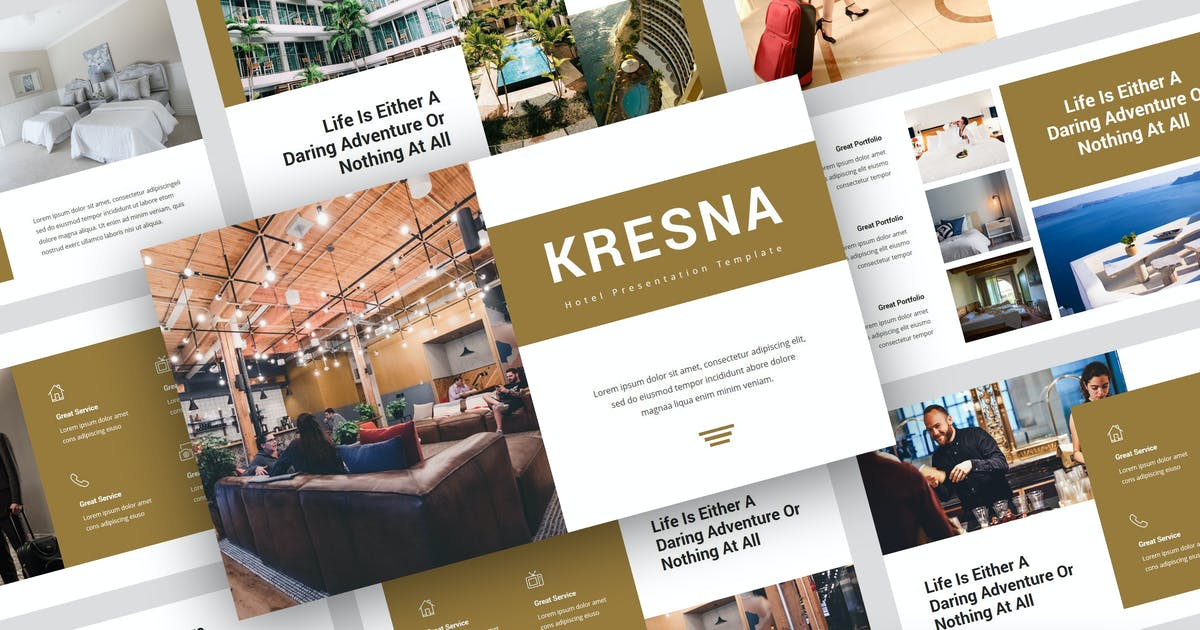 Download Kresna - Hotel Keynote Template by StringLabs