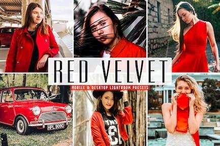 Red Velvet Mobile & Desktop Lightroom Presets