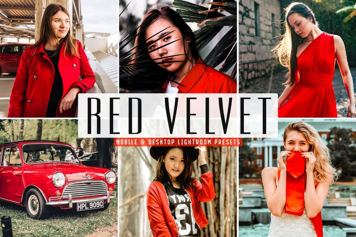 Red Velvet Mobile & Desktop Lightroom Presets