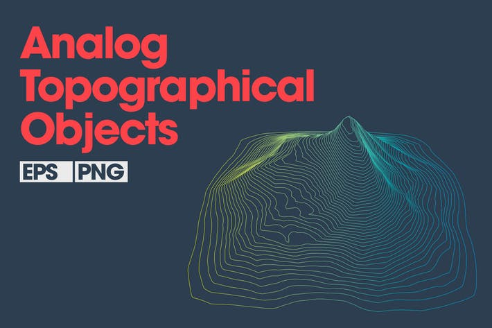 Thumbnail for 10 Analog Topographical Objects