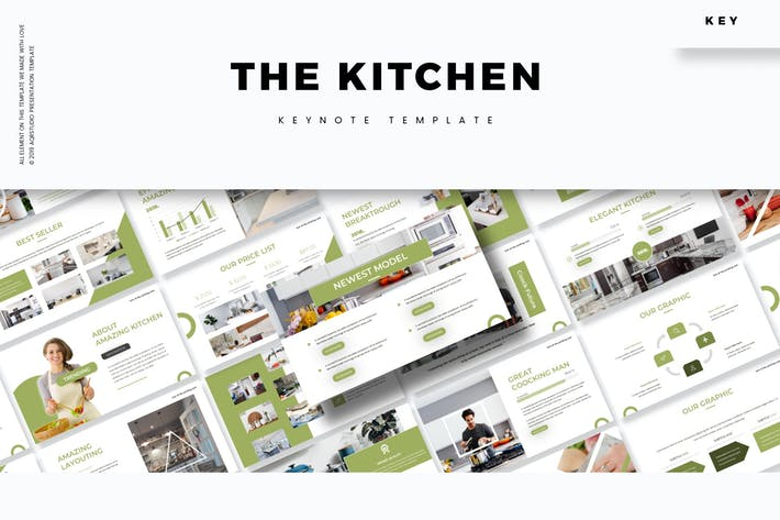 Кухня - Шаблон Keynote