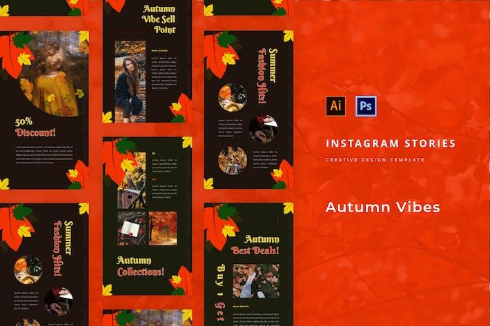 Thumbnail for Autumn Vibes Instagram Geschichte