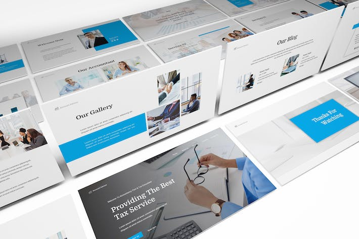 Thumbnail for Accountancy Powerpoint Template