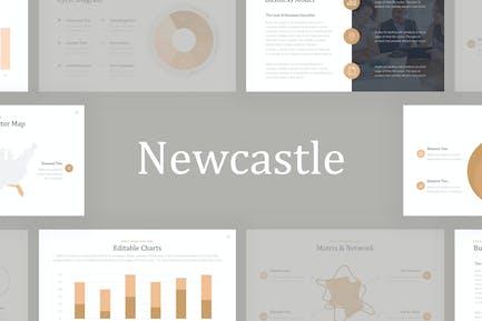 Newcastle Professional Google Slides