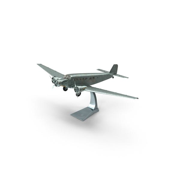 Plane Model on a Stand