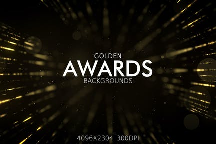 Golden Awards Backgrounds