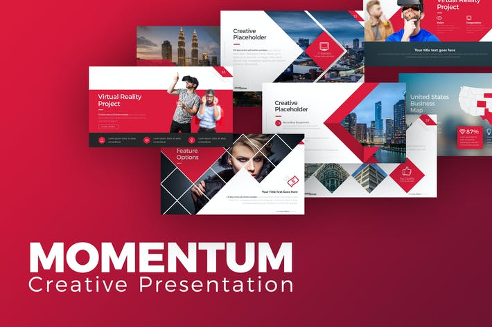 Thumbnail for Momentum Creative Presentation