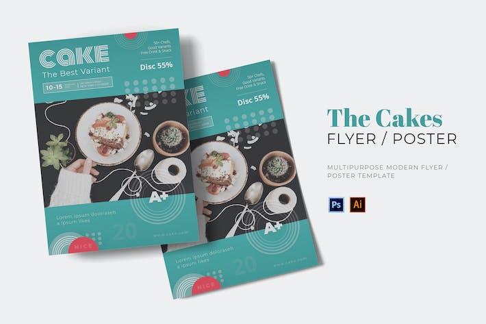 Der Kuchen-Flyer