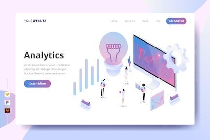 Analytics - Landing Page