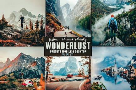 Wonderlust Photoshop Action & Lightrom Presets