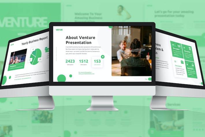 Thumbnail for Venture - Business Google Slides Template