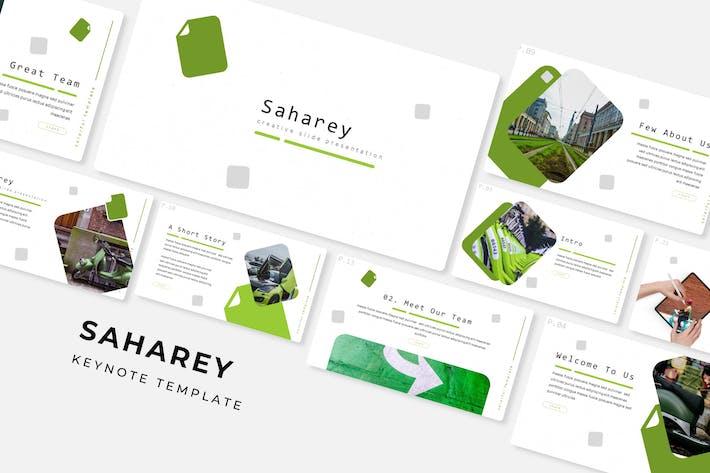 Thumbnail for Saharey - Plantilla de Keynote