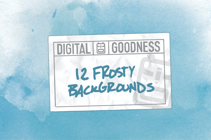 Thumbnail for Frosty Texture Backgrounds