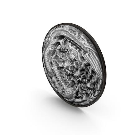 Drachen-Ornament-Stein