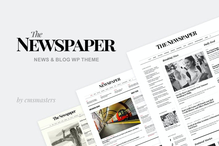 Thumbnail for The Newspaper - News Magazine Editorial WP Theme