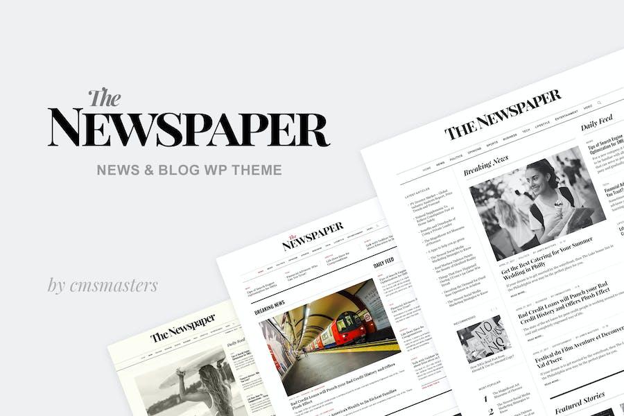 The Newspaper - News Magazine Editorial WP Theme