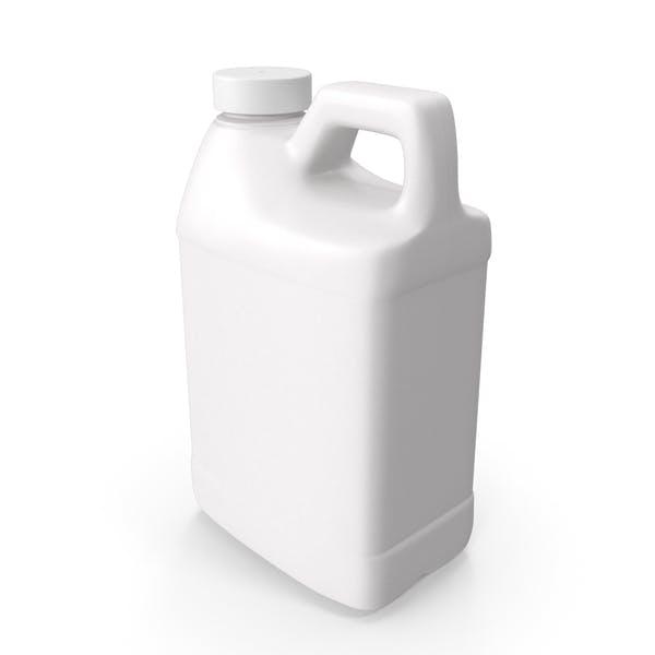 Пластиковая бутылка F Стиль 1/2 галлона с гладкой пластиковой крышкой