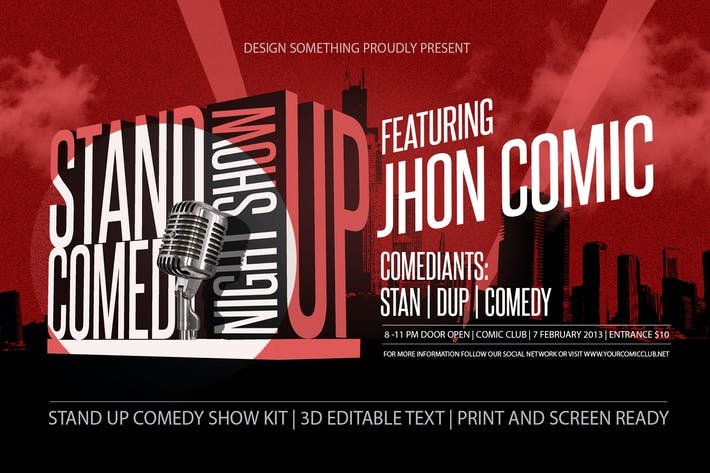 Thumbnail for Stand Up Comedy Show Kit