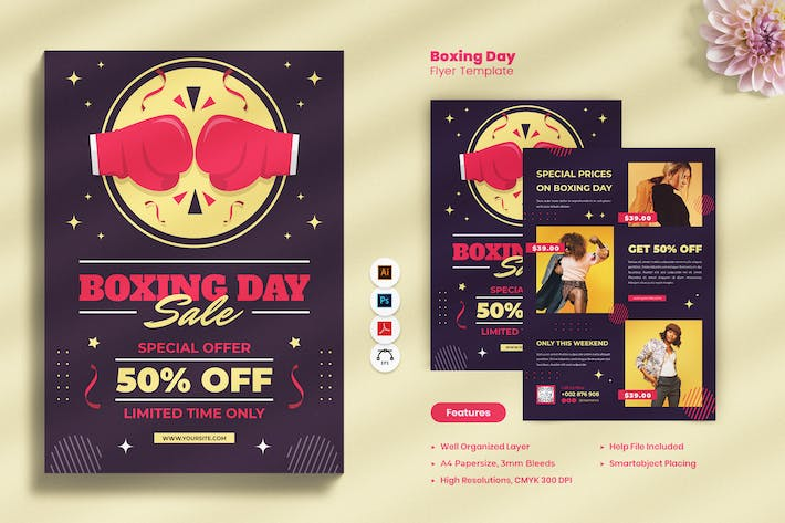 Thumbnail for Boxing Day Sale Flyer
