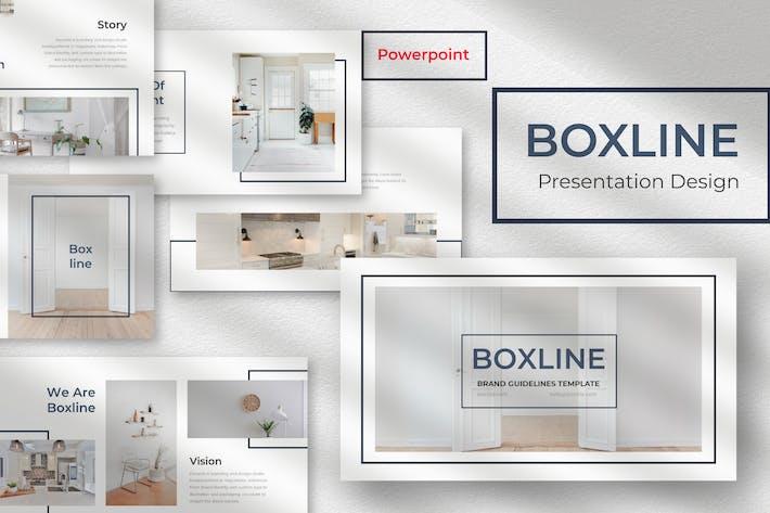 Thumbnail for Boxline- Шаблон презентации Powerpoint