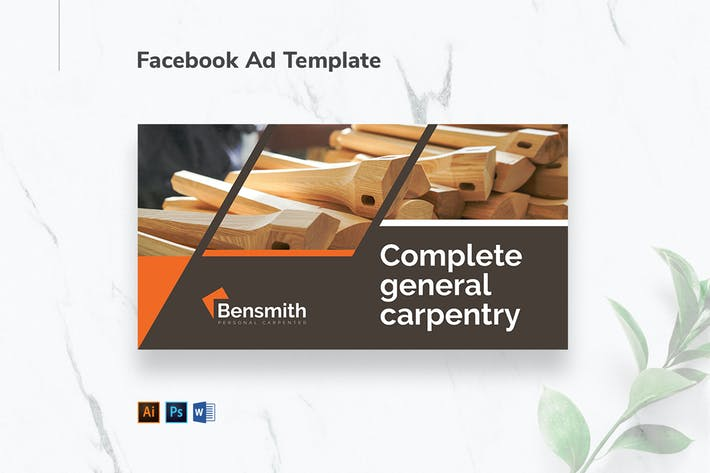 Thumbnail for Carpenter Facebook Ad