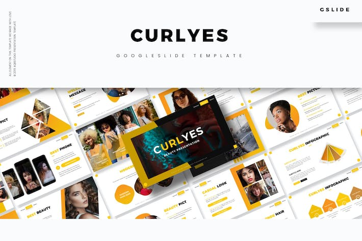 Curlyes - Google Slides Template