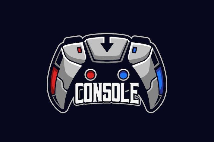 Console E-sports Logo Template