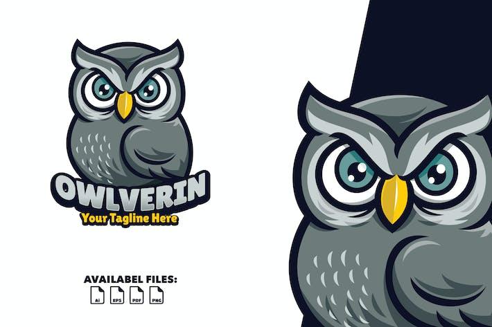 Thumbnail for Owlverin - Logo Mascot