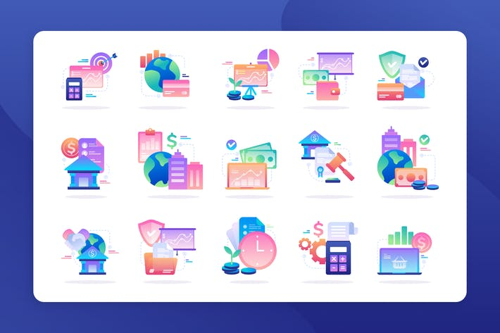 Thumbnail for Finance - Icon Illustration