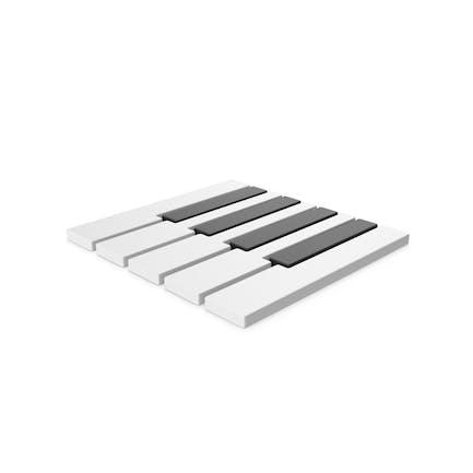 Symbol Piano Keyboards