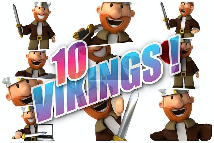 Thumbnail for 10 fun Vikings !