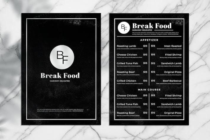 Thumbnail for Blackboard Food Menu. 05