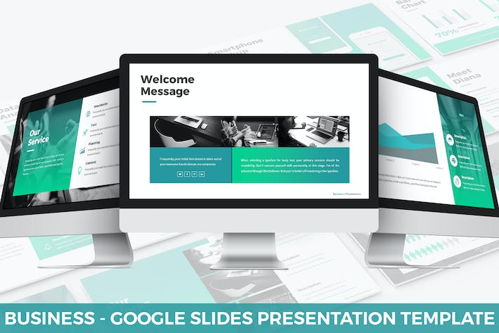 Thumbnail for Business - Google Slides Presentation Template