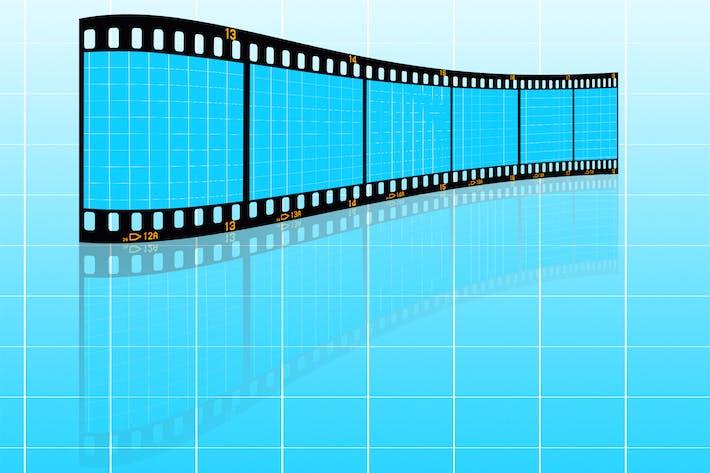 Thumbnail for Film Strip-02 Mockup