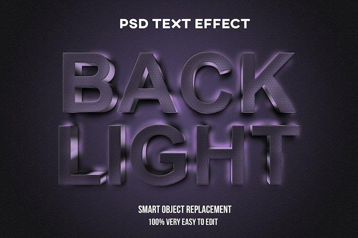 Текстовый эффект подсветки
