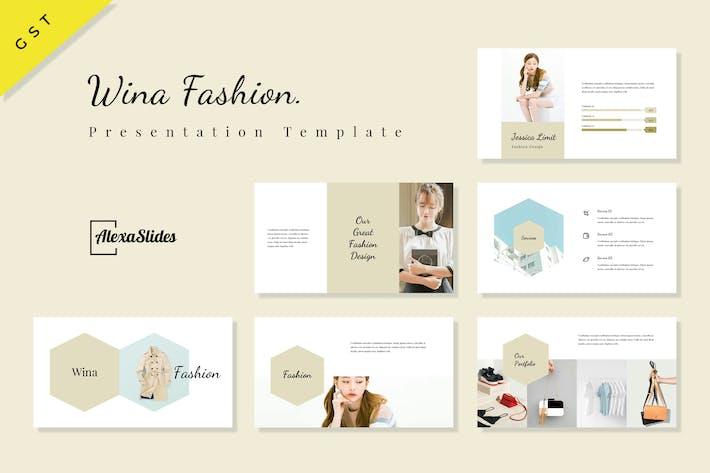 Thumbnail for Wina - Fashion Google Slides Presentation Template