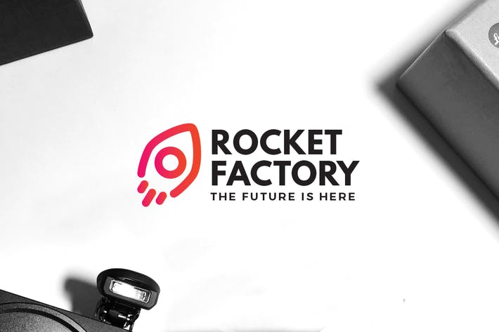 Cover Image For Rocket Factory Logo
