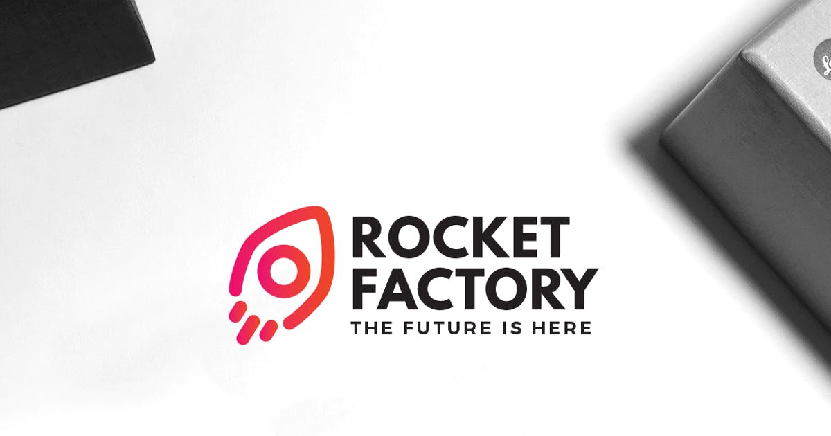 Download Rocket Factory Logo by VisualColony