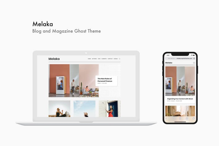 Melaka - Blog and Magazine Ghost Theme